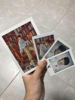 🚚 Stray kids Changbin lucky envelope and Polaroid