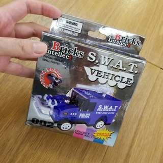 Bricks intellect S.W.A.T. lego 砌車 toys 玩具