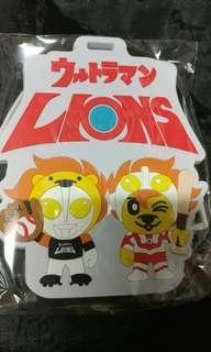 🚚 統一獅×超人力霸王聯名證件套掛飾