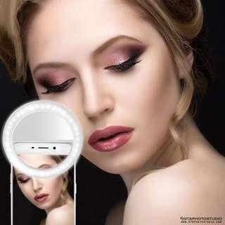 LED Selfie Phone Ring Light / NEW / GTAPhotoStudio . com