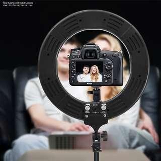 13 inch LED Ring Light / GREAT FOR YOUTUBE VIDEOS / GTAPhotoStudio . com
