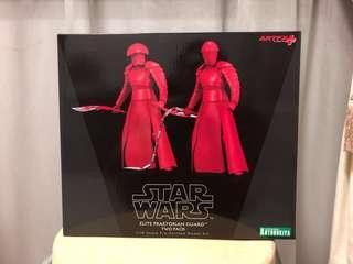 Star Wars Praetorian Guard Kotobukiya 2 pack last jedi