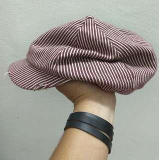 Hickory newsboys hat
