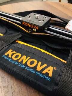 KONOVA K5 DSLR SLIDER 100cm with Carrying Bag - Quick Sale