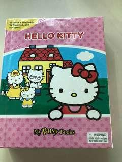 Hello Kitty busy book -brand new