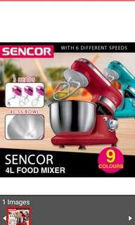 Sencor Food Mixer 4L /6Speed / Available in 9 Colours