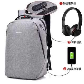 Tas ransel anti maling plus security lock