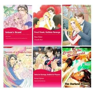 Paket Ebook Komik Harlequin English 71