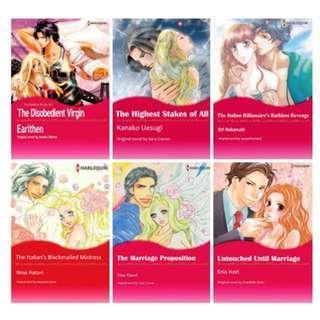 Paket Ebook Komik Harlequin English 72