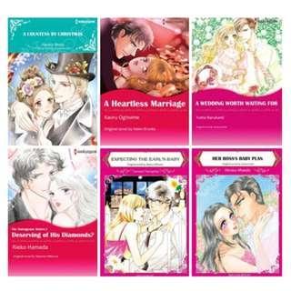 Paket Ebook Komik Harlequin English 73