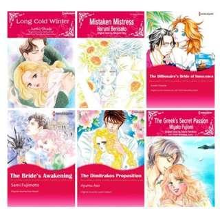 Paket Ebook Komik Harlequin English 74