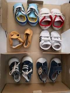 6 pairs Prewalker & walking shoe