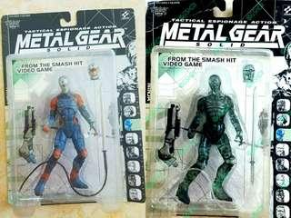 2 pieces Original mcfarlane metal gear solid series 1 ninja langka rare bnib moc  #sharethelove