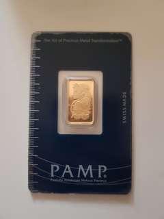 Gold bar 5g/10g/1oz