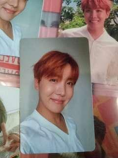 BTS J-HOPE Love Youself HER L ver Photocard