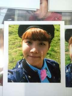 BTS J-HOPE Young Forever Photocard