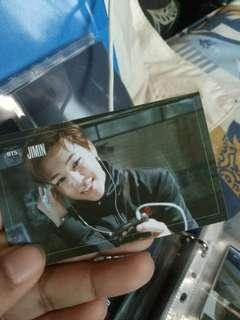 BTS Jimim Dark & Wild Photocard