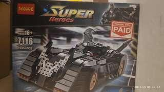 Decool(not lego) 1982 batmobile