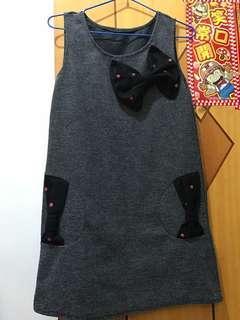 灰色 冬天裙
