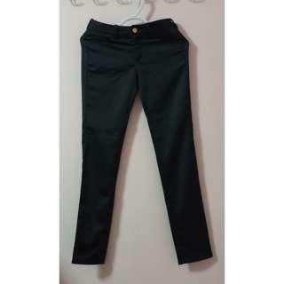 MNG Black Slacks (size 2)