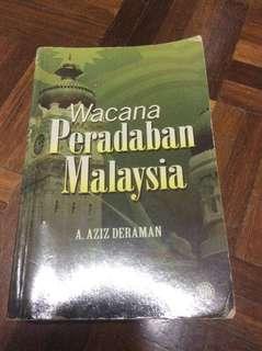Wacana Peradaban Malaysia A. Aziz Deraman