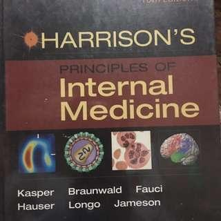 Harrisons Internal Medicine 16th edition volume 1 and volume 2