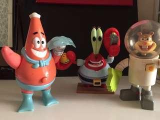 Spongebob's friends figure