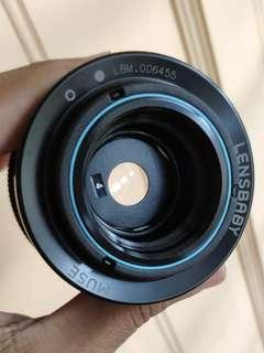 Lensbaby Muse Special Effects SLR Lens for Canon