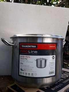 16 Qt/ 15,1 L Stock Pot