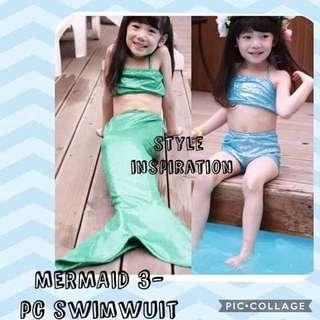 Mermaid summer outfit kids