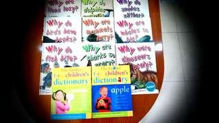 """GROLIER """"Why Animal...."""" Hard Cover Books"""