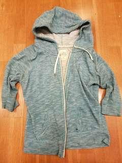 Garage turquoise hoodie