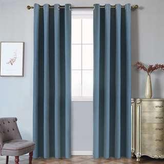 🔥Blackout Long Curtain Solid Colour🔥