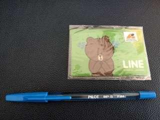 Line Brown熊大卡片套