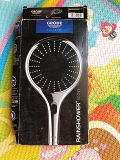 Grohe Rainshower head (black) Brand New
