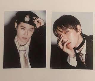 EXO postcards