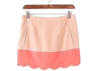Wave edge skirt