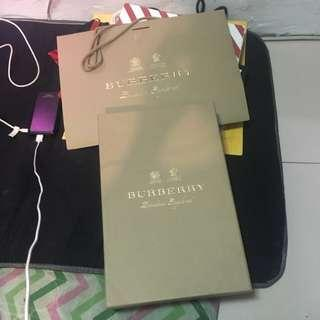 Burberry Box & Paperbag
