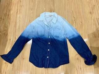Mossimo ombre jean top