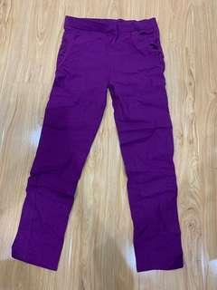 Purple short pants