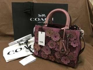 AUTHENTIC COACH 1941 ROUGE 25 LIMITED SERIES EDITION WITH TEA ROSE (F58849 )