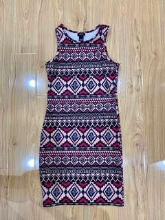 Aztech sleeveless dress