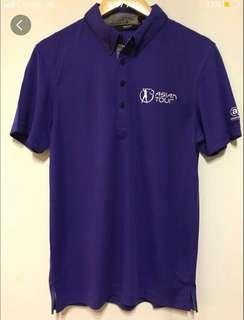 Brand New Abacus Mens Oliver Asian Tour Golf Polo (size S)