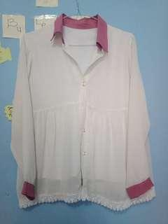 Baju warna cream
