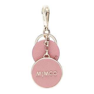 Mimco Sublime Keyring Blush
