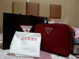 Tas sling bag guess