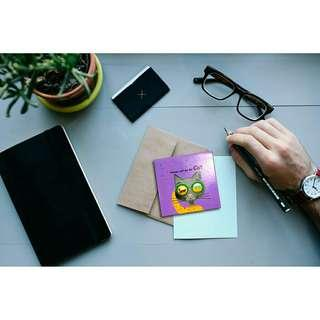 Cute Design School and Office Mini Memo Notepad
