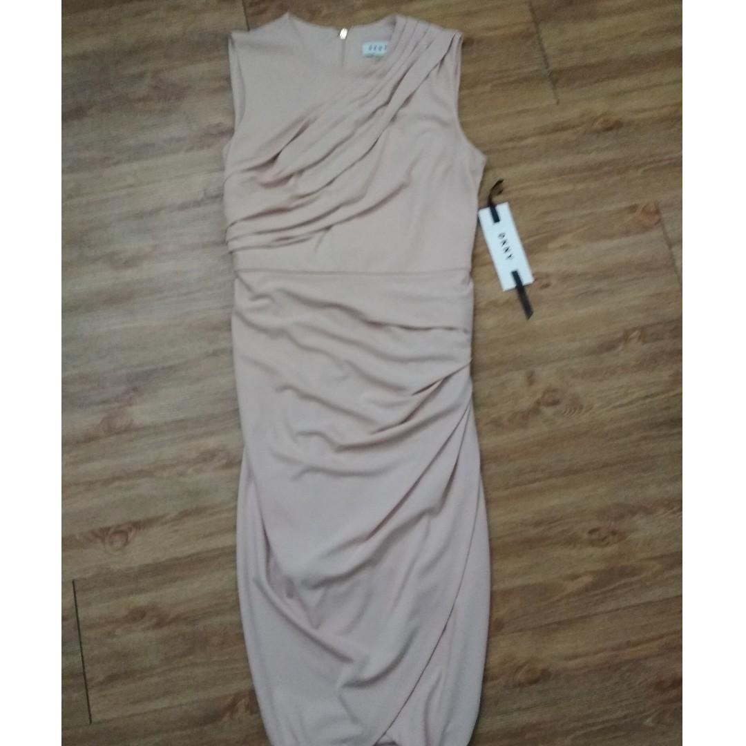 7a687f06731f $100 New with tags DKNY Donna Karan blush pink sleeveless grecian ...