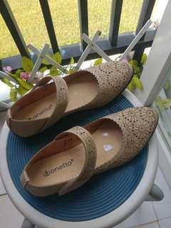 Flatshoes krem