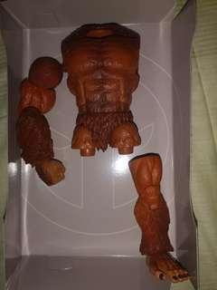 Marvel Legends Deadpool wave Sasquatch baf